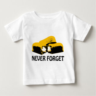 Twinkies Never Forget high contrast design Baby T-Shirt