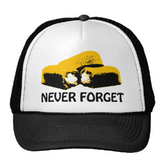 Twinkies Never Forget high contrast design Trucker Hat