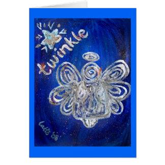 Twinkle Angel Card