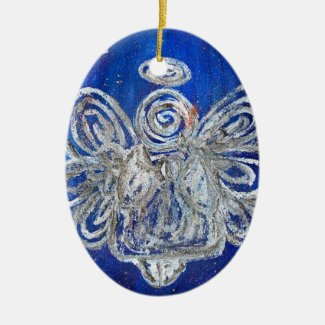 Twinkle Angel Holiday Ornament Pendant