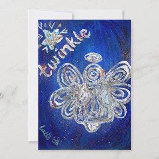 Twinkle Angel Invitation