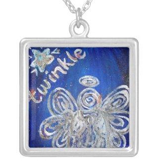 Twinkle Angel Necklace Pendant