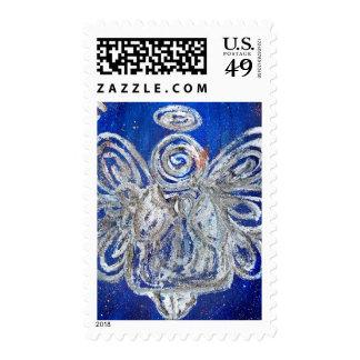 Twinkle Angel Postage Stamp