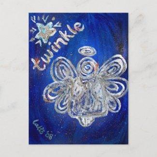 Twinkle Angel Postcard