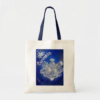 Twinkle Angel Tote Bag