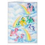 Twinkle Eyed Ponies Card