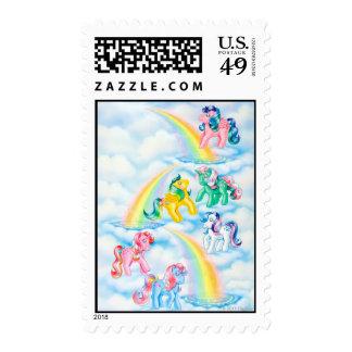 Twinkle Eyed Ponies Postage