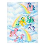 Twinkle Eyed Ponies Postcard