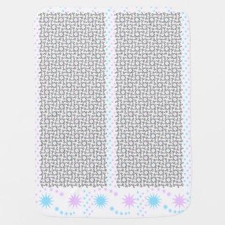 Twinkle Floral Pinwheel Baby Blanket