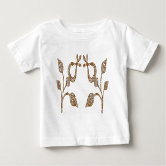 TWINKLE Gold n Silver Engraved Jewels Baby T-Shirt