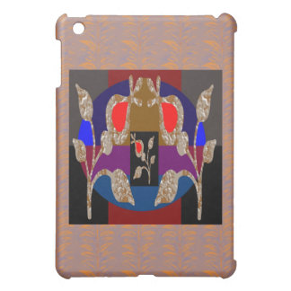 TWINKLE Gold n Silver Engraved Jewels Case For The iPad Mini