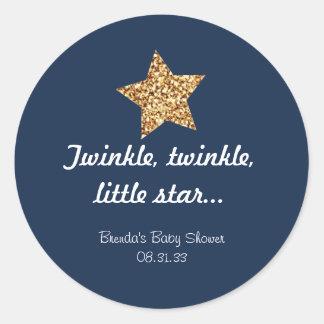 Twinkle Gold Star Sticker