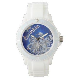 Twinkle Guardian Silver Angel Custom Watch Design