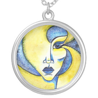 Twinkle in Her Eye ROund Necklace
