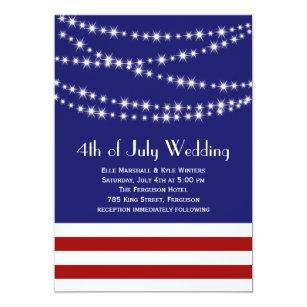 independence day wedding invitations zazzle