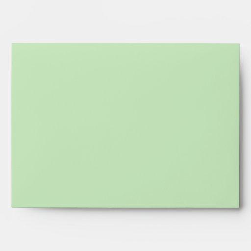 Twinkle Lights (green) Envelopes