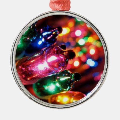 Twinkle lights ornament