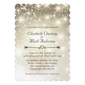 Twinkle Lights Outdoor Wedding Invites