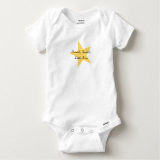 Twinkle Little Star Baby Bodysuit