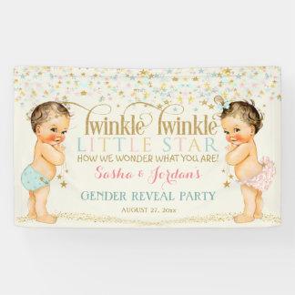 Twinkle Little Star Baby Gender Neutral Banner