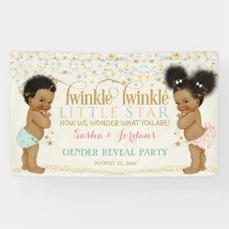 Twinkle Little Star Baby Gender Neutral Ethnic Banner
