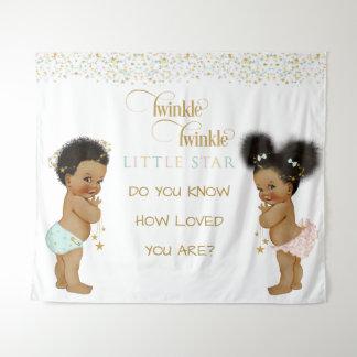 Twinkle Little Star Baby Gender Neutral Ethnic Tapestry