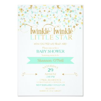 Twinkle twinkle little star baby shower time for the holidays twinkle little star baby shower gold amp filmwisefo Gallery