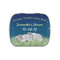 Twinkle Little Star Baby Shower Thank You Favor Jelly Belly Candy Tin