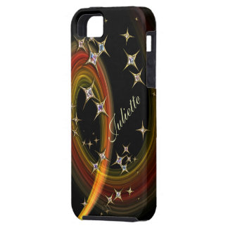 Twinkle Little Star - bling art with custom name iPhone SE/5/5s Case