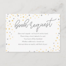 Twinkle Little Star Book Request Card | Gray