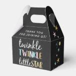 Twinkle Little Star Confetti & Chalk Baby Shower Favor Box