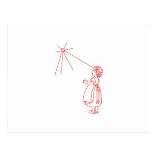 Twinkle Little Star Postcard