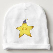 twinkle little yellow baby star nursery baby beanie