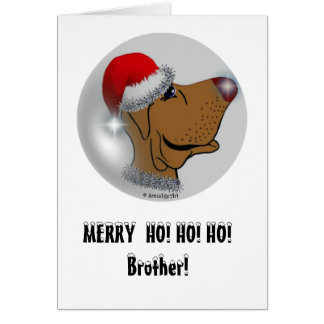 Twinkle Nose Pup Greeting Card