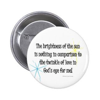 twinkle of love pinback button
