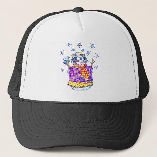 Twinkle Snowman Trucker Hat