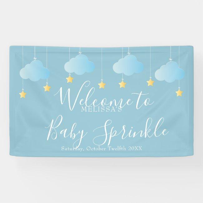 Twinkle Sprinkle Baby Sprinkle / Shower Welcome Banner