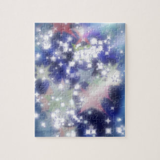 Twinkle stars lights jigsaw puzzle
