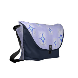 Twinkle Stars Rickshaw Messenger Bag