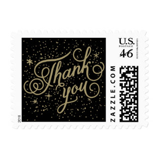 Twinkle - Thank You Postage Stamp