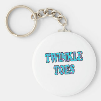 Twinkle Toes Keychain