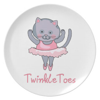 TWINKLE TOES PARTY PLATE