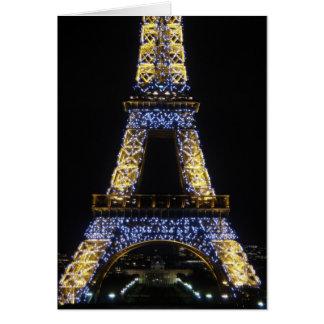 Twinkle,Twinkle Eiffel Tower Card
