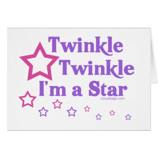 Twinkle Twinkle I'm a Star Cards