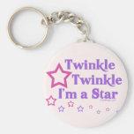 Twinkle Twinkle I'm a Star Key Chains