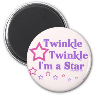 Twinkle Twinkle I'm a Star Magnets