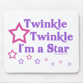 Twinkle Twinkle I'm a Star Mouse Mats