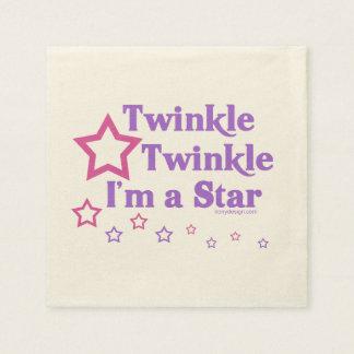 Twinkle Twinkle I'm a Star Paper Napkin