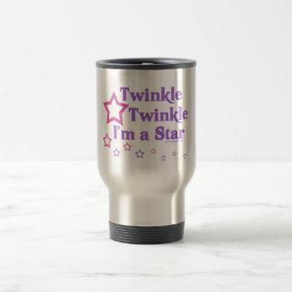 Twinkle Twinkle I'm a Star Travel Mug