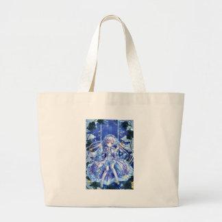 Twinkle Twinkle Little Girl Large Tote Bag